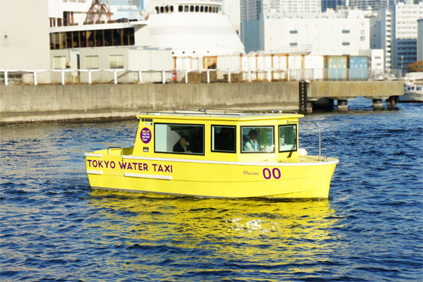 東京ウォータータクシーテスト航行開始